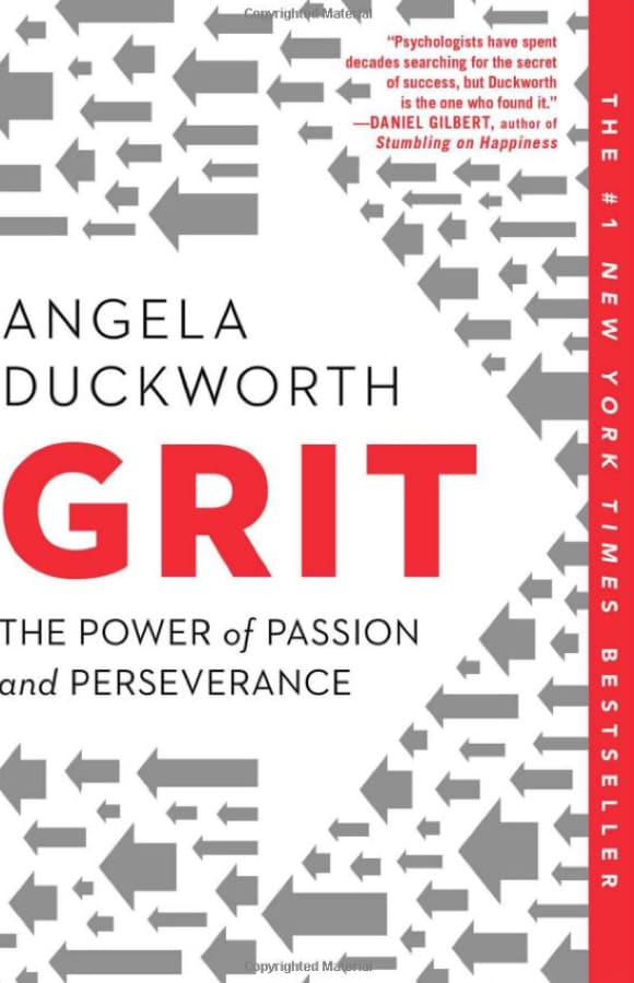 Book: Grit by Angela Duckworth